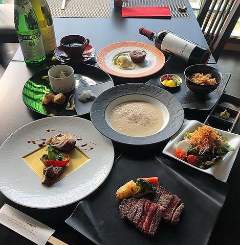 C,TAKAMI飛騨牛【シャトーブリアン】ステーキディナーコース