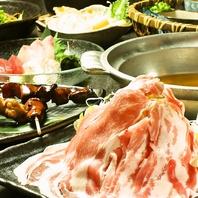 名物の【ねぎ豚しゃぶ】は年中人気の一品です。