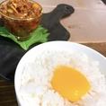 卵かけご飯×肉ラー油が絶品!