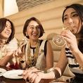 【♪ワイン片手に楽しめる彩り豊かなコースが人気♪】インスタ映えバッチリなオシャレな空間やお料理は◎少人数利用でも、もちろんOKです。女子会にも最適!コースはもちろんアラカルトでも十分にお楽しみいただけます。ちょっとした飲み会や急なお食事にも便利☆