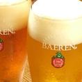 盛岡地ビール『ベアレン』も存分にお楽しみただけます!