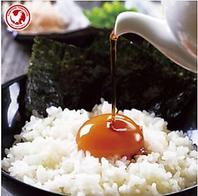 烏骨鶏のたまごかけご飯430円(税込)