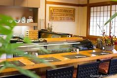 カウンター席でのお好み立食はご予約でお願い致します。お昼時のお一人様はカウンター席をご案内する時がございます。ご了承ください。