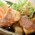 料理メニュー写真越後もち豚のステーキ