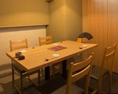 大小個室をご用意しております。大切なご接待や会食にもご利用いただける、ゆったりとした個室です。