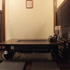 壁側の真ん中のお座敷テーブル席★