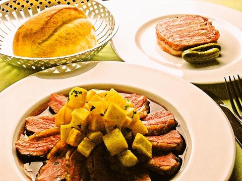 全て手作りにこだわった、フランス人が食べる、アレンジなしのフランス料理の味わい。