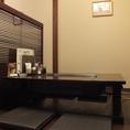 壁側の奥のお座敷テーブル席★