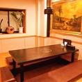 掘りごたつ完全個室は1室のみのご案内の為、ご予約はお早めにお願い致します。