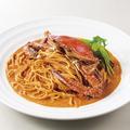 料理メニュー写真渡り蟹のコク旨トマトクリームソース