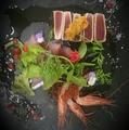 料理メニュー写真贅沢鮮魚のカルパッチョ