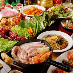韓国料理 サムシセキのサムネイル画像
