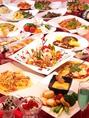 【食べ飲み】☆チーズフォンデュ、パスタ、ピザなど約100種類のフード、ドリンクが食べ飲み放題☆