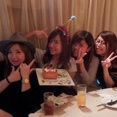 【女子会・誕生日】カーテン個室で誕生日会♪スタッフが誕生日を盛り上げます。バースデーはお任せください