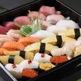 お持ち帰り用メニューも大好評!寿司だけでなく刺身や海鮮丼などもお持ち帰りいただけます。詳細は料理メニューにてご確認ください