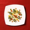 料理メニュー写真シェフ渾身の美しいエスニック料理の数々・・・