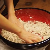 職人の技!こだわりの自家製麺の蕎麦