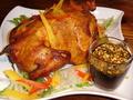 料理メニュー写真丸ごとチキンde油淋鶏