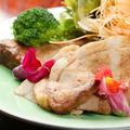 料理メニュー写真鹿児島産黒豚ロースの味噌漬けステーキ