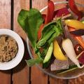 料理メニュー写真スティック野菜の盛り合わせ ~鴨の肉みそ~