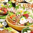新鮮な魚や野菜が自慢です!