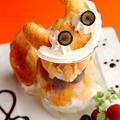 料理メニュー写真唄う♪ チェシャ猫のミックスベリーパフェ
