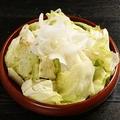料理メニュー写真てんこ盛り牛星サラダ