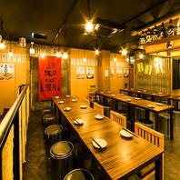 【大衆酒場】開放感のある店内で楽しく宴会!