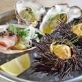 料理メニュー写真【冷製】海の盛り合わせ 3種