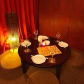 新宿での女子会や飲み会に優雅な個室もご用意♪大人のための落ち着いた雰囲気の個室席は友人とのご宴会を盛り上げること間違いなし♪