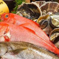 新鮮なお魚を毎日仕入れています。