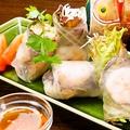 料理メニュー写真【ド定番】 ベトナム生春巻き