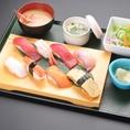 ランチも充実しています☆リーズナブルに本格寿司が楽しめるのでお得です!