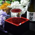 九州料理に合うお酒が豊富