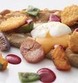 料理メニュー写真【1日10食限定】 帆立貝と半熟卵のガレット