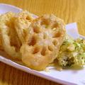 料理メニュー写真鳴門蓮根の天ぷら