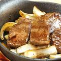 料理メニュー写真鉄板和牛カルビ
