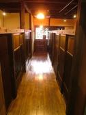 落ち着いた雰囲気溢れる廊下