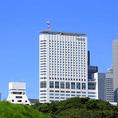 小田急ホテルセンチュリーサザンタワーの外観です