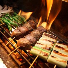 料理メニュー写真焼き野菜各種