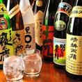 日本酒やビールだけじゃない!焼酎も種類豊富に揃えております!お気に入りの1杯を見付けてください♪【調布/つつじヶ丘/鳥まさコース/居酒屋/串焼き/焼き鳥/デート/つくね/レバー/甲州健味鶏/飲み放題】