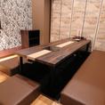 掘りごたつ席の個室
