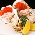料理メニュー写真牡蠣と白子、イクラの冷菜
