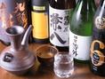 お酒の種類を豊富に取り揃えております。