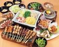 宴会に便利なコースは90分飲み放題付で3500円(税込)~各種ご用意しております。女子会や歓送迎会等にも是非!