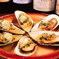 料理メニュー写真ムール貝のガーリックバター焼き