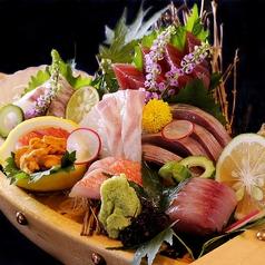 料理メニュー写真千葉県銚子漁港直送・鮮魚大漁7種2名盛り