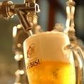 【麦芽100%!ちょっと贅沢なヱビス生ビール】本場ドイツの伝統をかたくなに守って醸造されているヱビス。麦芽100%、バイエルン産アロマホップ、長期間熟成だからリッチな香りで円熟の味、日本発のプレミアムビールです。ビヤレストラン銀座ライオンでお楽しみください!