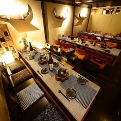 個室 肉和食 居酒屋 座頭牛 zatoushi 伏見本店の雰囲気1