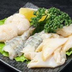 料理メニュー写真海鮮焼き三種盛り